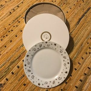 The Pampered Chef Dessert Plates